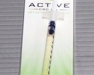 Active CBD Oil E-Liquid Samples, Various Flavors, Qty 15