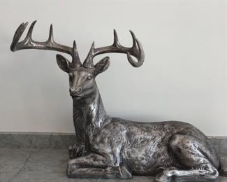 Large, Regal 10Point Stag Figure