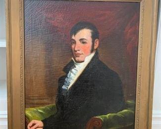 Painting Portrait of Gentleman