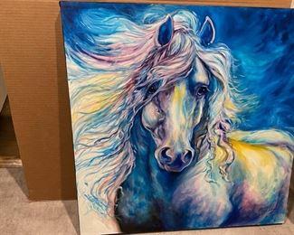 Marcia Baldwin painting