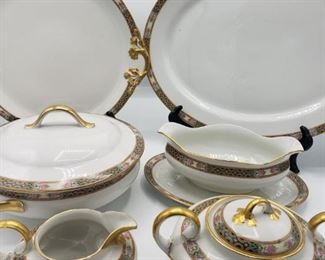 Wm Guerin Co. Limoges Pattern Serving Pieces