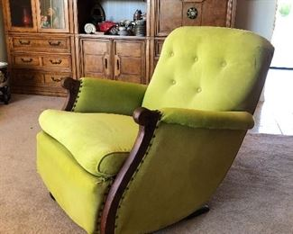 Midcentury Rocking Chair