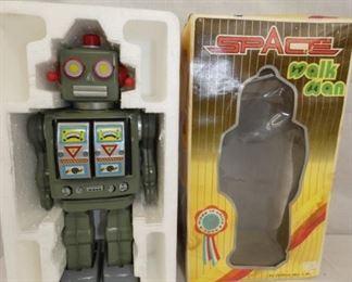 SPACE WALKMAN ROBOT W/ BOX