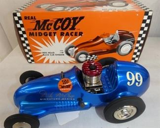 10IN REAL MCCOY MIDGET RACER W/ BOX