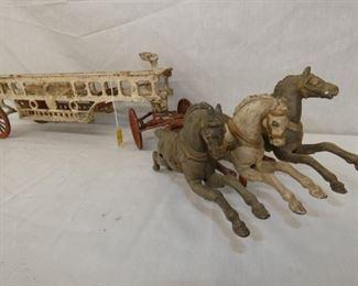VIEW 2 CLOSEUP W/ CAST HORSES
