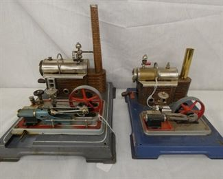 10&12IN WILESCO STEAM ENGINE TOYS