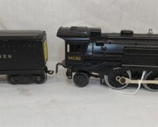 8632 LIONEL TRAIN ENGINE W/ COAL CAR