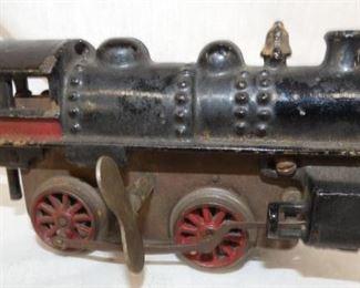 7IN CAST KEYWIND TRAIN ENGINE