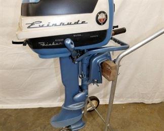 EVINRUDE FISHERMAN 5.5 BOAT MOTOR