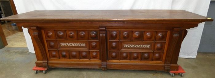 96X31 WINCHESTER STORE COUNTER