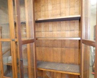 VIEW 6 INSIDE W/ ORIG. SHELVES