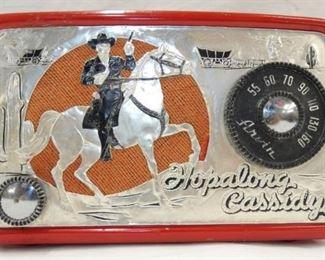 EARLY RED HOPALONG CASSIDY RADIO