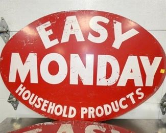 VIEW 2 CLOSEUP EASY MONDAY PRODUCTS SIGN