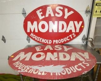EASY MONDAY PRODUCTS SIGNS