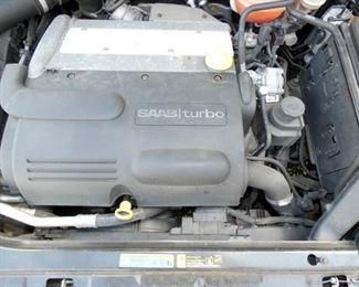 VIEW 21 ENGINE VIEW 2004 SAAB 115K MILES