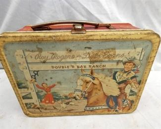 ROY ROGERS/DALE EVEANS LUNCH BOX