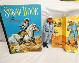 LONG RANGER SCRAPBOOK,FIGURES