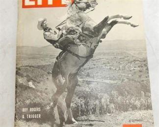 1943 ROY ROGERS LIFE MAGIZINE