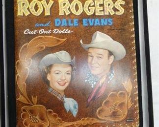 ROY ROGERS/DALE EVANS CUT OUT DOLLS