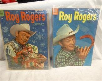10CENT ROY ROGERS COMIC BOOKS