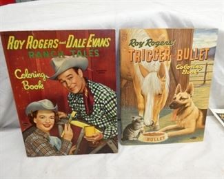 ROY ROGERS COLORING BOOKS
