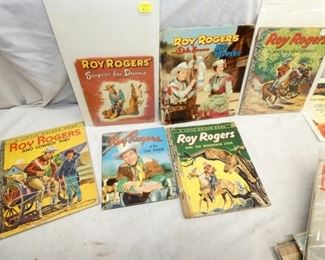 1950'S ROY ROGERS CHILDRENS BOOKS