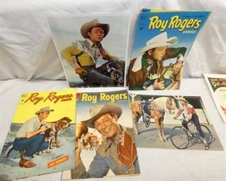 VARIOUS PIECES ROY ROGERS