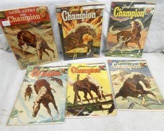 10CENT 1950'S GENE AUTRY COMIC BOOKS