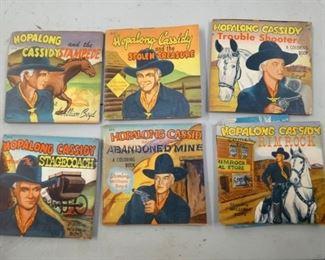 1950'S HOPALONG CASSIDY STORYBOOKS
