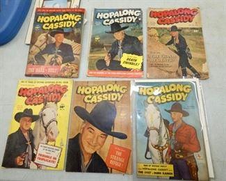 10CENT HOPALONG COMIC BOOKS