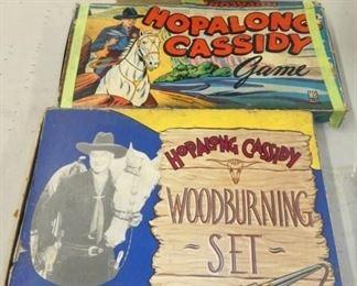 HOPALONG CASSIDY WOOD BURNING KIT