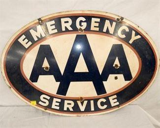 36X24 PORC. AAA SERVICE SIGN