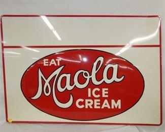 58X40 EAT MAOLA ICE CREAM SIGN