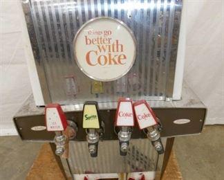 COCA COLA DRINK DISPENSER