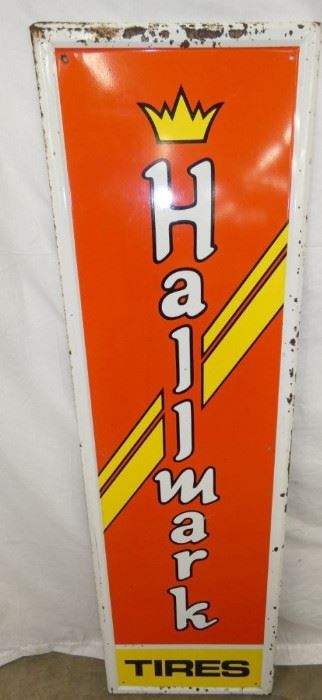 18X60 HALLMARK VERTICAL SIGN