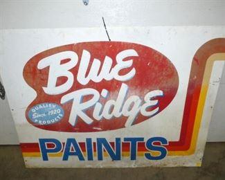 48X36 BLUE RIDGE PAINTS SIGN