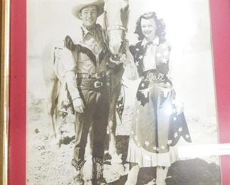 ROY ROGERS/DALE EVANS PICTURE