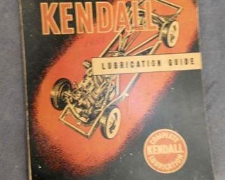 1951 KENDALL LUBRICATION MANUEL