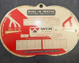DIAL O MATIC WIX CHART