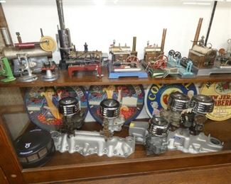 COLLECTION TOY STEAM ENGINES