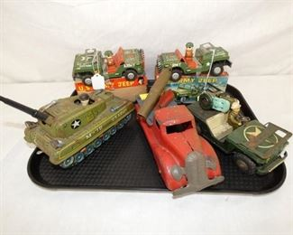 GROUP PICTURE EARLY TOYS