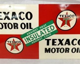 20X11 1948 TEXACO OIL SIGN