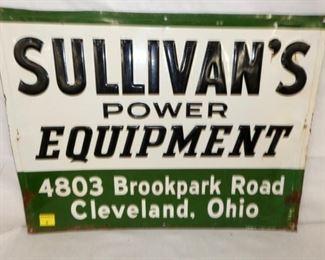 24X18 SULLIVANS EQUIPMENT SIGN OHIO