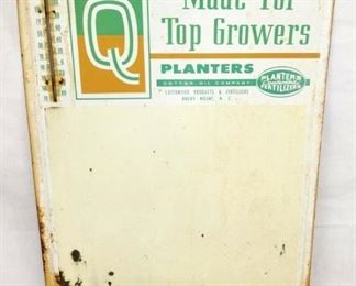18X29 TOP GROWERS SUPER Q SIGN W/THERM.