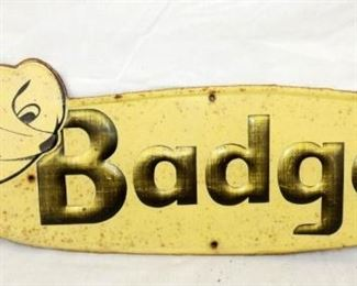 24X8 BADGER SIGN