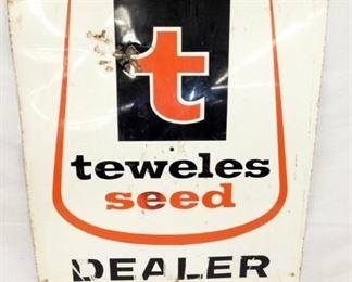 24X28 TEWELES SEED DEALER SIGN