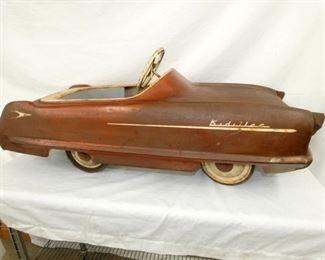 1950'S KIDILLAC PEDAL CAR