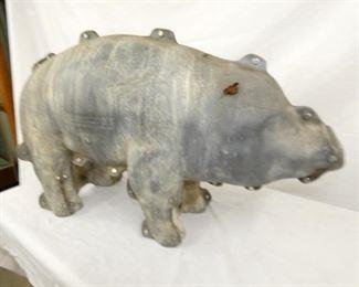 VIEW 2 CLOSEUP CONCRETE PIG MOLD