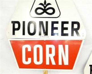 VIEW 2 CLOSEUP PIONEER ROW SIGN