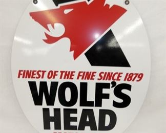 VIEW 2 OTHERSIDE WOLFS HEAD SIGN